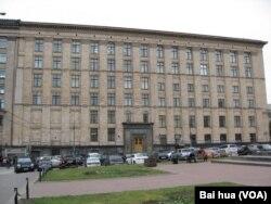 俄罗斯经济发展部。 (美国之音白桦拍摄)