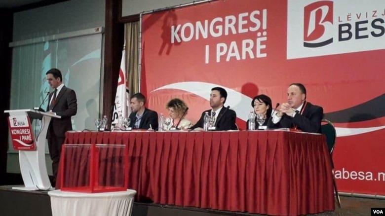 """Bilall Kasami, kryetar i Lëvizjes """"Besa"""" në Tetovë"""