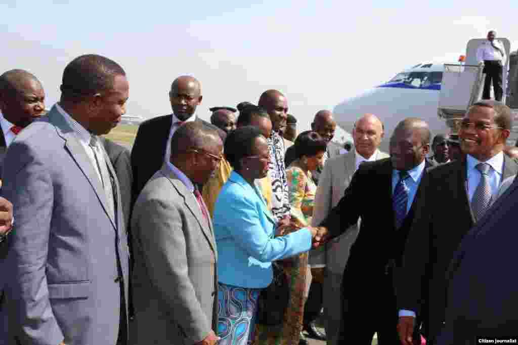 Rais Joseph Kabila apokelewa Dar es Salaam