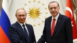 """ဆီးရီးယား မွာ """"စစ္ရွိန္ေလွ်႔ာခ်ေရး နယ္ေျမ"""" ေဖာ္ဆာင္ဖို႔ ရုရွား-တူရကီ သေဘာတူ"""