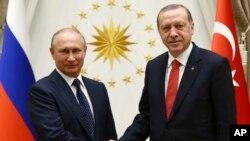 Putin na Erdogan baramukanya aho bari mu mubonana i Ankara, muri Turukiya.