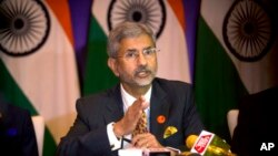 资料照:印度外交部长苏杰生 (Subrahmanyam Jaishankar)