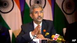 资料照:外交部长苏杰生(Subrahmanyam Jaishankar)