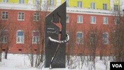 """Памятник """"Жертвам Норильлага"""" в Норильске"""