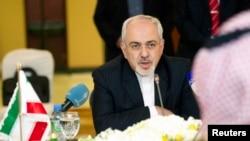 伊朗外交部长扎里夫资料照片。