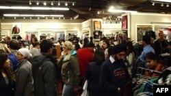 У чорну п'ятницю магазини відвідує найбільша кількість покупців за рік