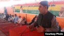 د بلوچستان نیشنل عوامي گوند مشر او پخوانی اعلی وزیر اختر مینگل