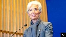 خانم لاگارد، ۶۰ ساله از سال ۲۰۱۱ رئیس این صندوق است.