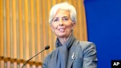 크리스틴 라가르드 IMF 총재. (자료사진)