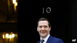 ဂုဏ္ထူးေဆာင္ ၀ါရင့္၀န္ႀကီးအျဖစ္ သတ္မွတ္ခံရသူ လက္ရွိ ဘ႑ာေရးဝန္ႀကီး မစၥတာ George Osborne