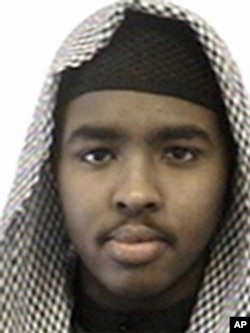 FILE - This undated photo provided by the FBI shows Mohamed Abdullahi Hassan, a former Minnesota resident who turned himself in to authorities in Africa, the U.S. State Department said Dec. 7, 2015.