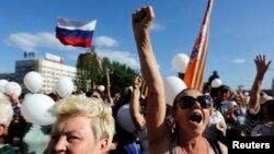 Акция протеста против выборов. Донецк. 24 мая 2014г.