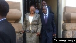 Thokozani Khupe and Lovemore Madhuku