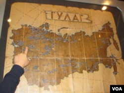 古拉格集中營分佈圖