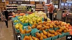 美国超市里的新鲜水果