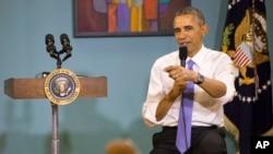 El presidente Barack Obama habló sobre la acción ejecutiva en inmigración en Tennessee.