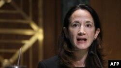 Direktur Intelijen Nasional AS, Avril Haines, saat sidang pengukuhan di Capitol Hill, 19 Januari 2021 di Washington, DC.