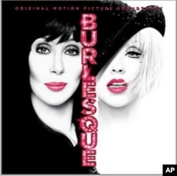 """""""Burlesque"""" Motion Picture soundtrack, featuring Christina Aguilera and Cher"""
