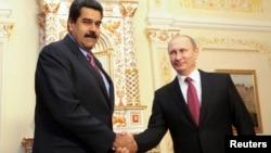 En enero de 2015 Maduro fue recibido por el presidente de Rusia ne Moscú.
