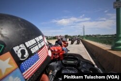 Thai bikers joined the last Rolling Thunder in DC