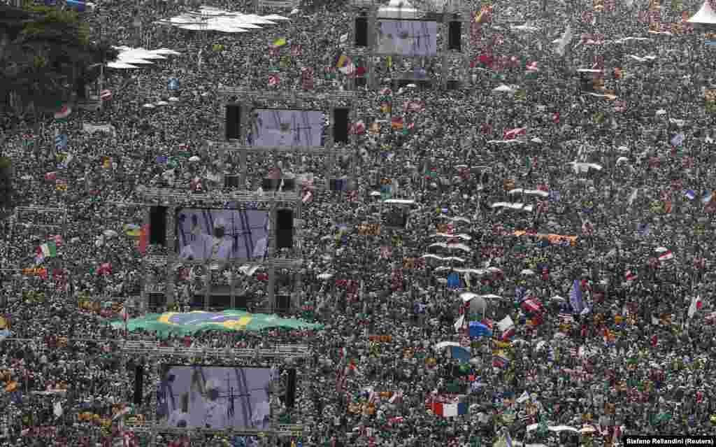 Papa visita o Brasil