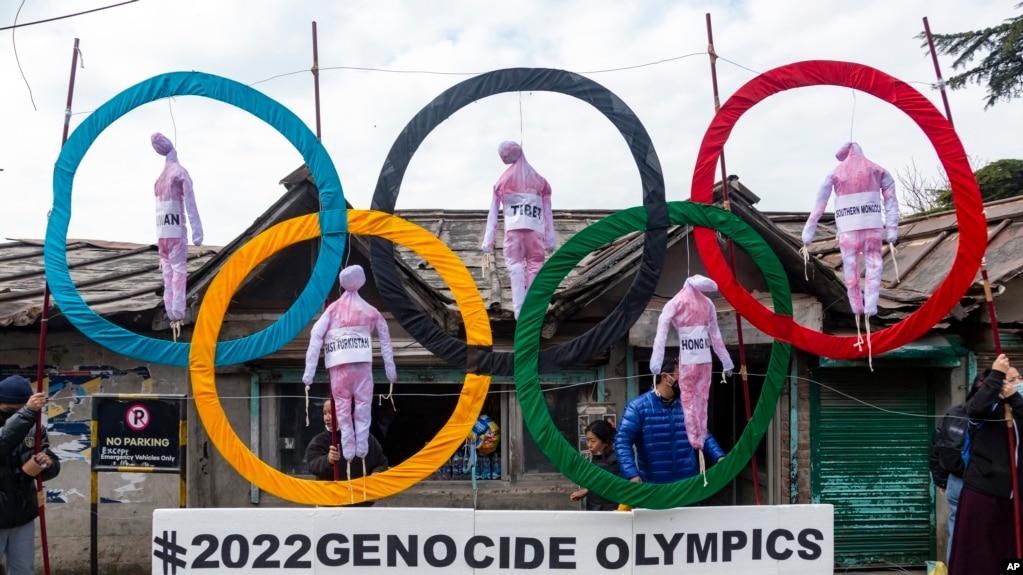 Архив: Тибетцы в Индии протестуют против проведения «Геноцидной Олимпиады» в КНР