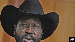 南蘇丹總統基爾(資料圖片)