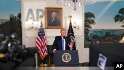 Predsednik Donald Tramp u Beloj kući