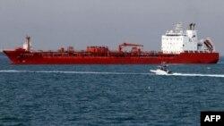 이란 반다르 압바스 항구의 이란 유조선(자료사진)