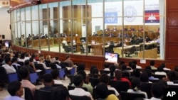 An overview of the U.N.-backed court, ECCC, in Phnom Penh, file photo.