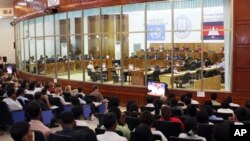 An overview of the U.N.-backed court, in Phnom Penh, file photo.