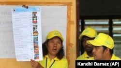 Eleições em Timor Leste 22 de Julho