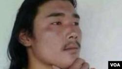 自焚藏人帕莫桑珠 (美国之音藏语组提供)