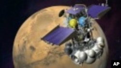 俄羅斯太空探測器。