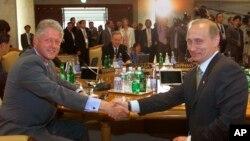 Putin va Klinton uchrashuvi, 2000-yil