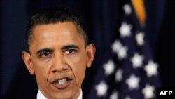 Tổng thống Obama đọc diễn văn về Libya tại trường Đại học Quốc phòng ở thủ đô Washington, ngày 28/3/2011