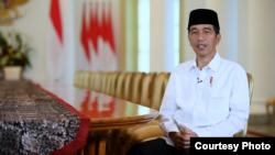 Presiden Joko Widodo di Istana Kepresidenan, Bogor, Kamis, 18 Mei 2018, mengucapkan selamat menjalankan ibadah puasa di bulan Ramadan, 1439 Hijriyah. (Foto: Biro Pers Istana).