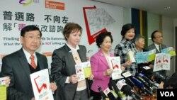 香港團體批港府政改諮詢誤導公眾