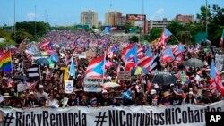 Протесты в Пуэрто-Рико