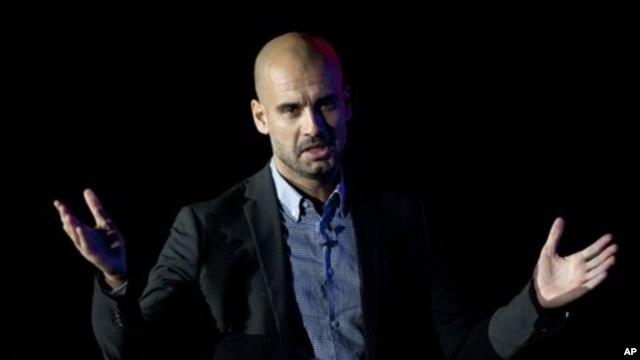 Mantan manajer tim Barcelona, Pep Guardiola akan melatih klub Bayern Munich mulai Juli tahun ini (foto: dok).