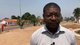 Carlos Xavier, advogado de defesa dos activistas, Malanje, Angola