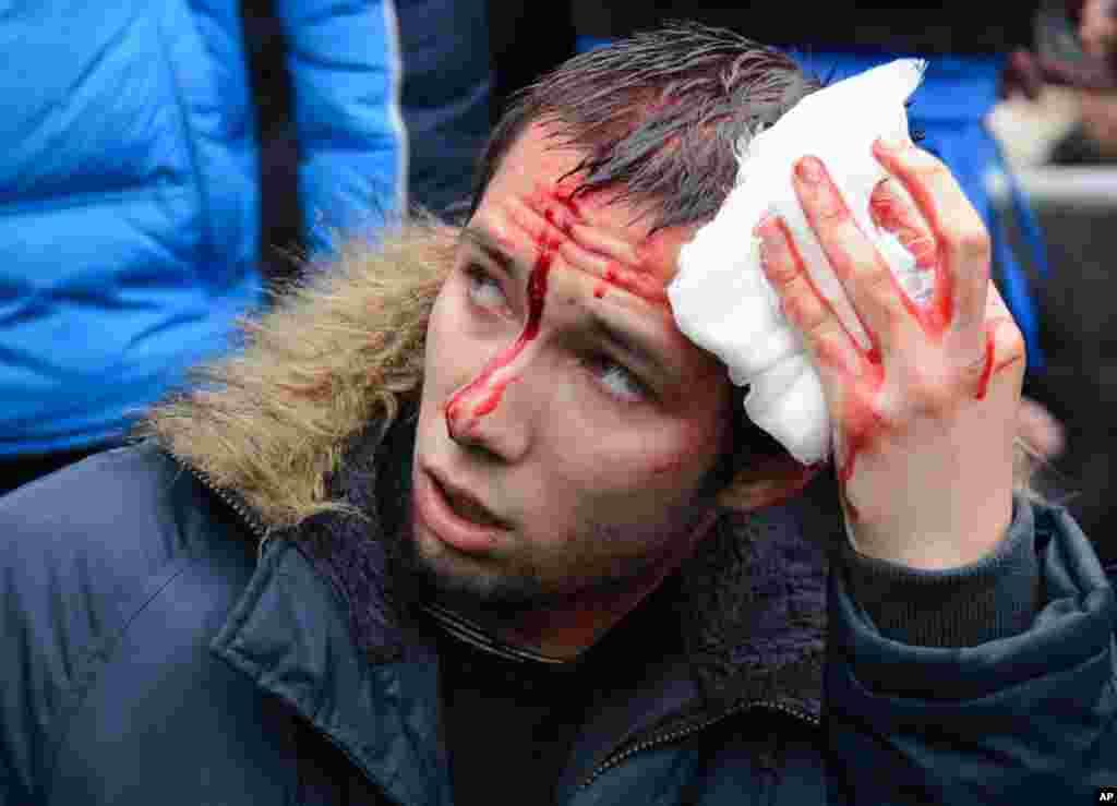 Активісти побиті у Харкові.