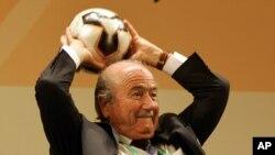 Sepp Blatter président démissionnnaire de la Fifa