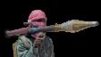 FILE - A Somali al-Shabab fighter.