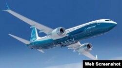Pesawat jet Boeing 737 MAX (foto: ilustrasi).