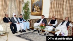 نگراں وزیراعظم کھوسو سے کوئٹہ میں سیاسی رہنماؤں نے ملاقات کی