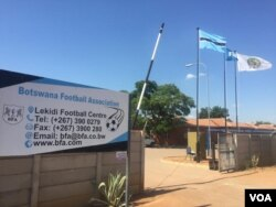 Amawofisi enhlanganiso yeBotswana Football Association eGaborone. (Photo: Martin Ngwenya)