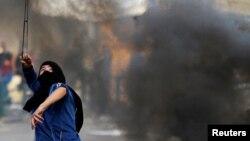 فلسطینی علاقوں میں نئی یہودی بستیوں کی تعمیر کے خلاف مظاہرہ۔ 27 نومبر 2019