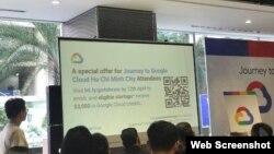 Google công bố một chương trình hỗ trợ đặc biệt dành cho các công ty khởi nghiệp sáng tạo Việt Nam hôm 9/3/2019.