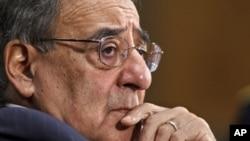 Bộ trưởng Quốc phòng Mỹ Leon Panetta tại buổi điều trần ở Điện Capitol, Washington, Thứ Tư 7/3/2012
